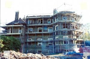 Building under reconstruction