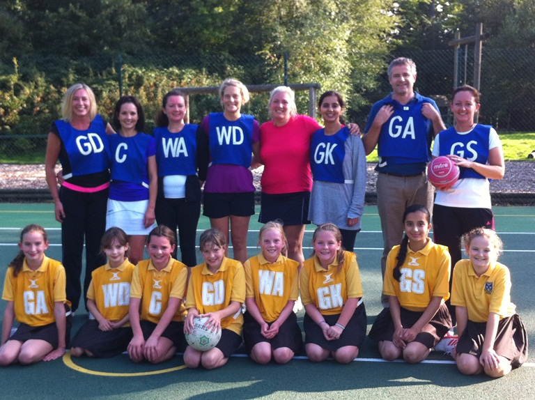 Netball V Parents web