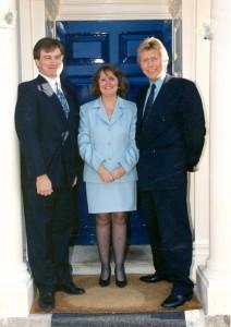 Original Trustees with Mrs P. Wilson