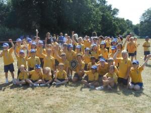 Winning team of St David